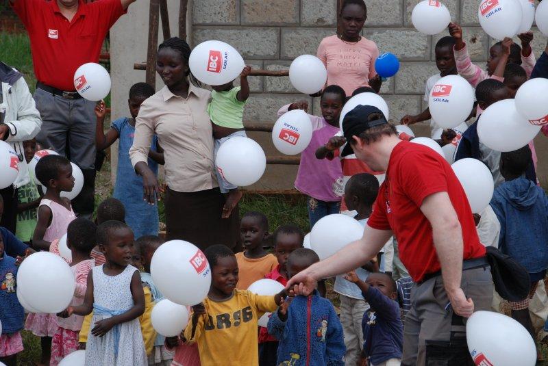 In dem Waisenhaus leben bis zu 120 Kinder