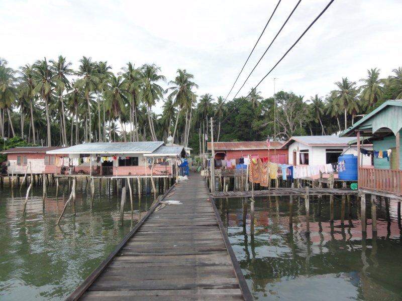 Malaysisches Dorf