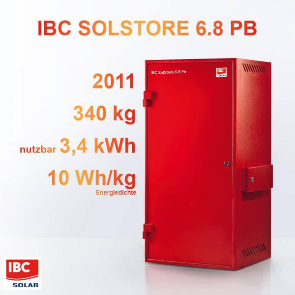 IBC SolStore Pb - erster Heimspeicher aus Serienproduktion