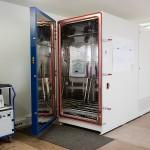 Die Klimakammer in unserem Testraum