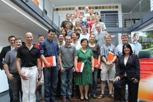 Besuch Stipendiaten der Hanns-Seidel-Stiftung