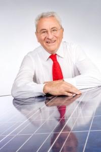 Udo Möhrstedt, Firmengründer und CEO von IBC SOLAR