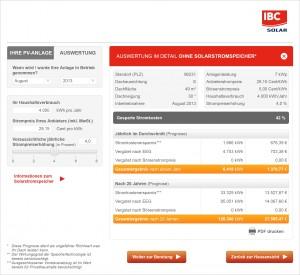 IBC Solarstromrechner_Auswertung_Detail