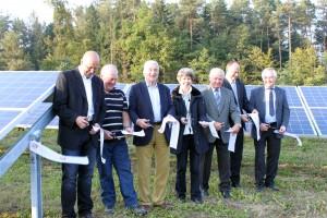 IBC SOLAR_Einweihung_Seehof_Solarpark