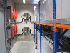 Energy factory storage room