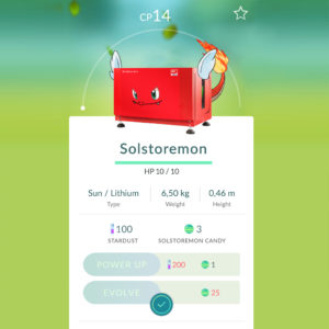 Solstoremon