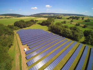 Beispiel Solarpark 750 kWp